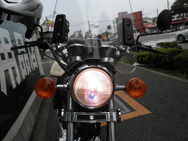 ヘッドライトも変更.JPG